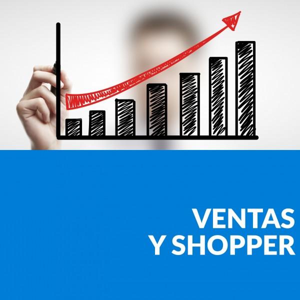 ventas y shopper