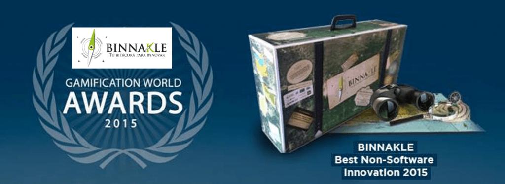 Binnakle wins award 2015