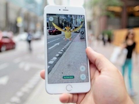 PokemonGo on the street