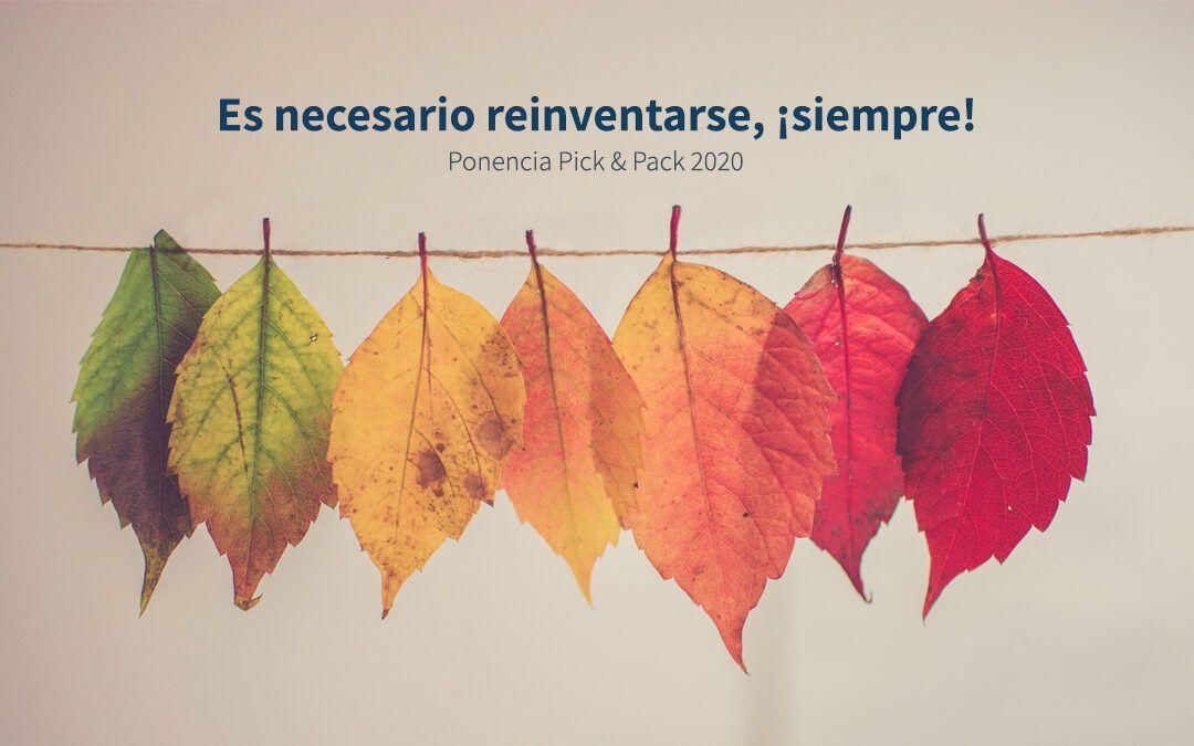 Es necesario reinventarse ¡siempre!