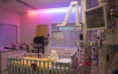INNOVATIVE HOSPITAL LIGHTING SYSTEM DESIGNED TO BOOST HEALING FOR MASONIC CHILDREN'S HOSPITAL PATIENTS
