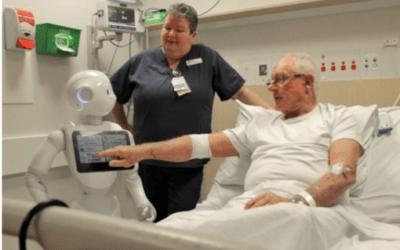 Los hospitales catalanes ensayan con un robot para interactuar con pacientes