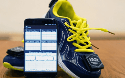 WEARABLE GAIT SENSOR PROVIDES IN-HOME PHYSICAL THERAPY