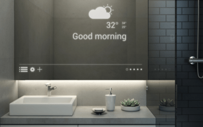 The Poseidon Smart Mirror is the New Health and Wellness Hub at Home
