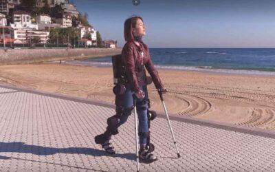 Estos exoesqueletos, creados y fabricados en España, reducen los tiempos de rehabilitación
