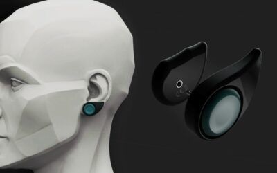 This earring helps diabetics read their blood sugar levels without the pin-prick